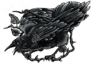 Значение татуировки ворон