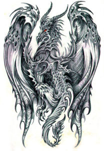Значение татуировки дракон