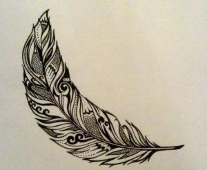 Значение татуировки перо