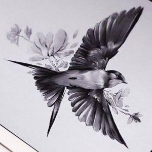 Значение татуировки птицы