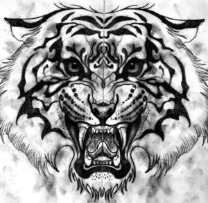 Значение татуировки тигр