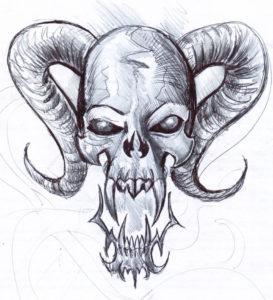 Значение татуировки череп