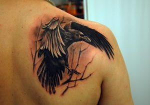 История татуировки ворон