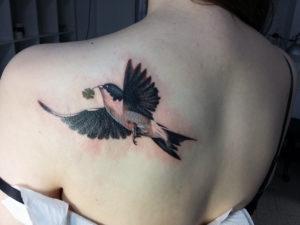 История татуировки ласточка