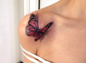 Татуировка бабочка значение: хрупкость, нежность и кротость