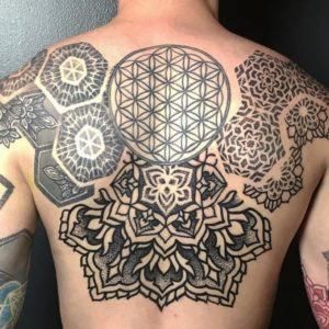 Татуировки Цветка Жизни