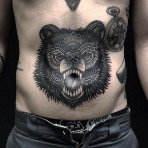 Татуировки медведя значение на зоне