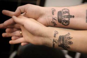 Что значит татуировка корона