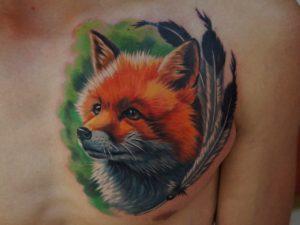 Что означает тату с изображением лисы?